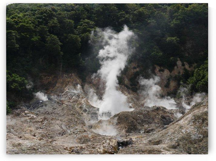Drive Thru Volcano and Sulfur Springs Santa Lucia by On da Raks