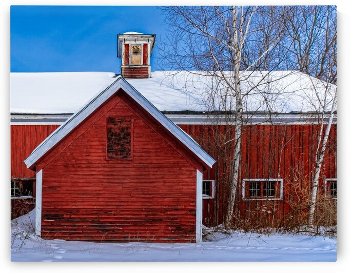Indian Head Farm 1 by Dave Therrien