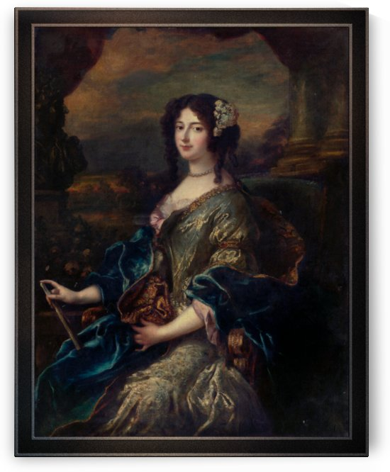 Portrait Of A Noble Lady by Pierre Mignard Old Masters Paintings Reproduction by xzendor7