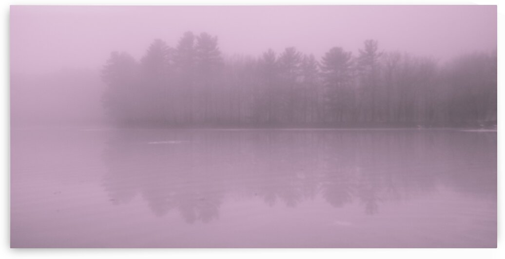 Mine Falls Fog 1 by Dave Therrien