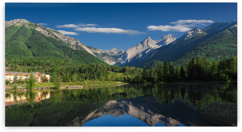 Fernie Reflections  by The Big Picture by JD