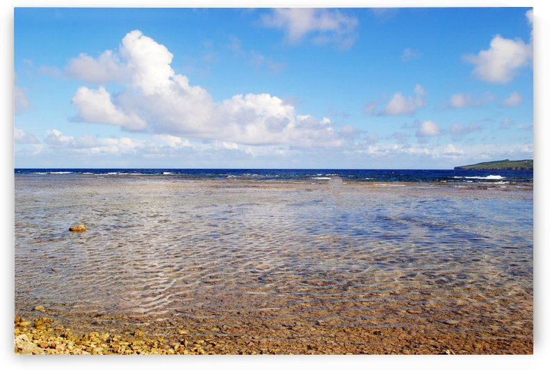 Low Tide in Lao Lao Bay Saipan by On da Raks
