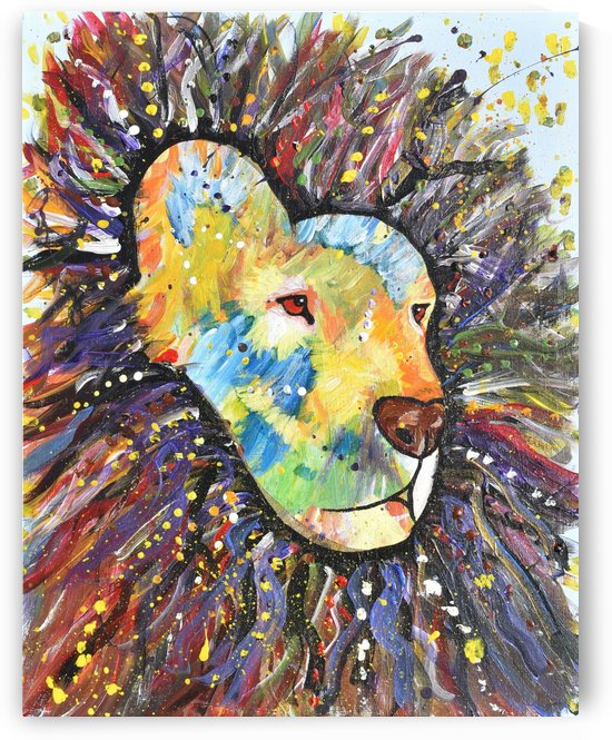 Lively Lion.Maggie Z by The Arc of the Capital Area