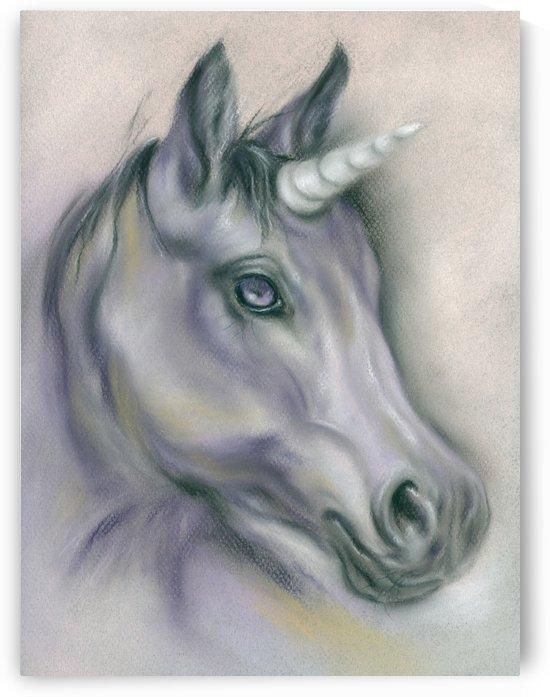Unicorn Portrait by MM Anderson