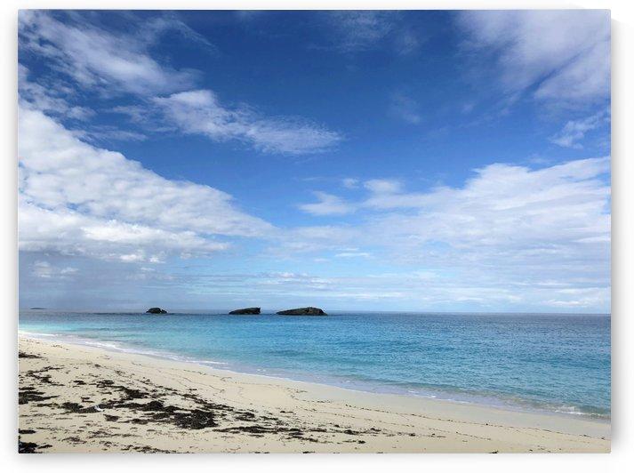 Three Sisters Beach Exuma Cays Bahamas by On da Raks