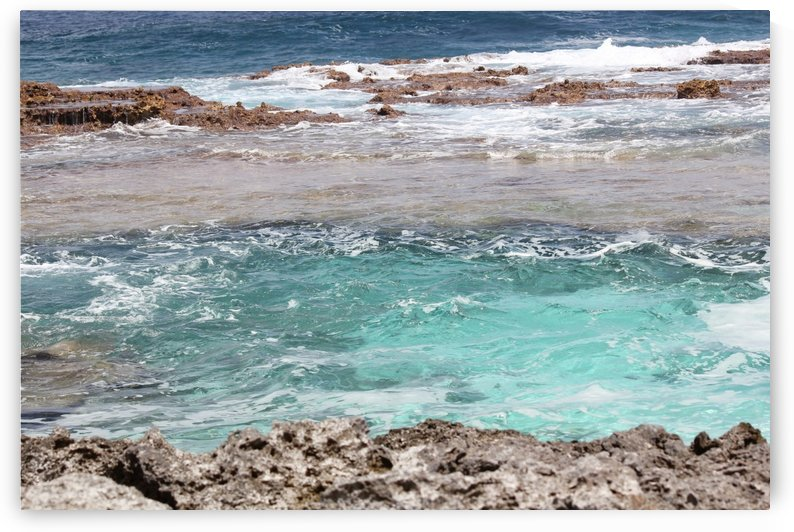 Different Hues of Blue Rota CNMI by On da Raks