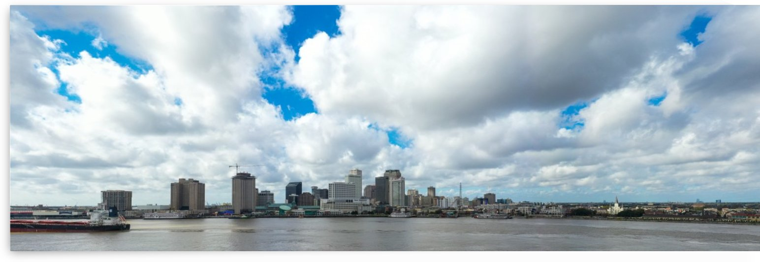 New Orleans Riverwalk by Destin30A Drone