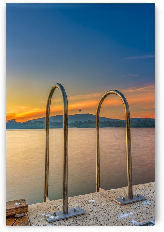 SUNSET at Lake Burley Griffin by BBCLICKZ - Bhaumik Bumia Photography