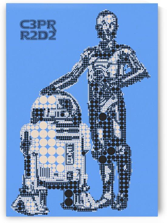 C3PO & R2D2 by Gunawan Rb