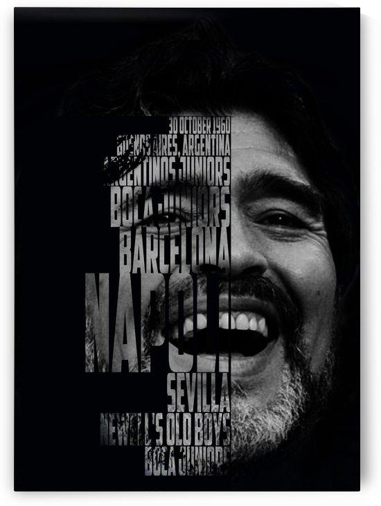 Diego Maradona   Argentina by Gunawan Rb