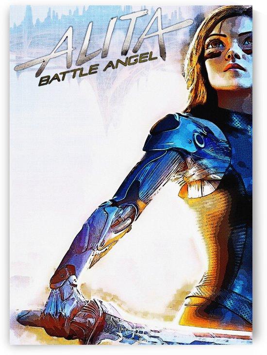 Alita Battle Angel 99 by Gunawan Rb