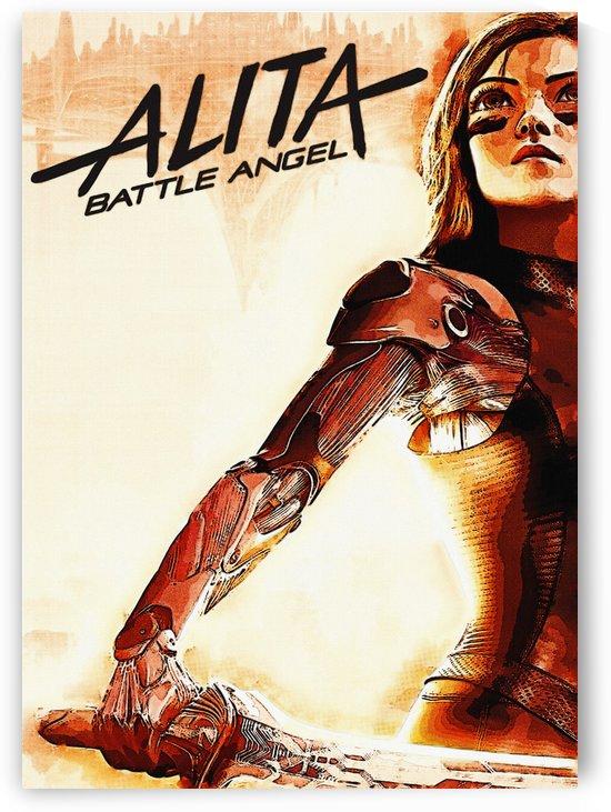 Alita Battle Angel 99   Chrome by Gunawan Rb