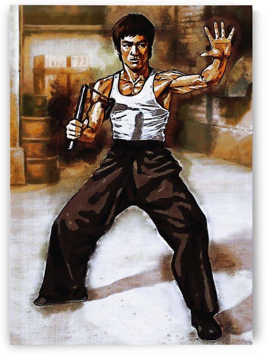 Little Dragon Bruce Lee by Gunawan Rb
