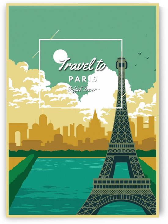 Tarvel To Paris by Gunawan Rb