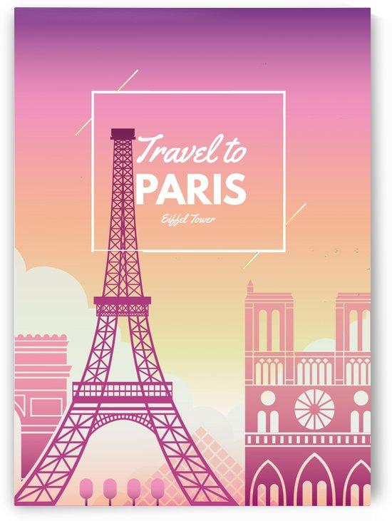 Travel To Paris by Gunawan Rb