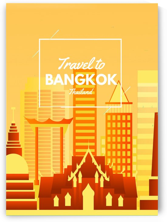 Travel To Bangkok   Thailand by Gunawan Rb