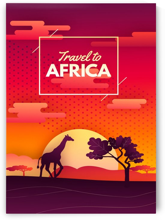 Travel To Africa by Gunawan Rb