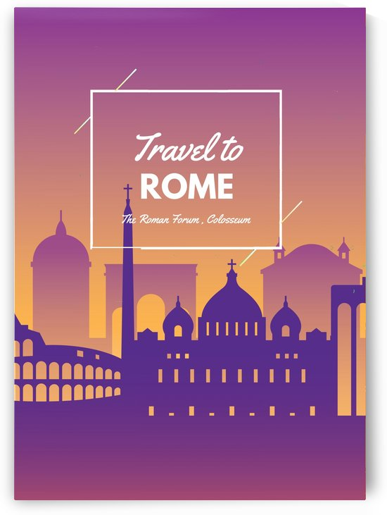 Travel To Rome by Gunawan Rb