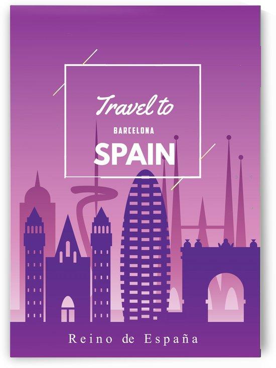 Travel To Spain by Gunawan Rb