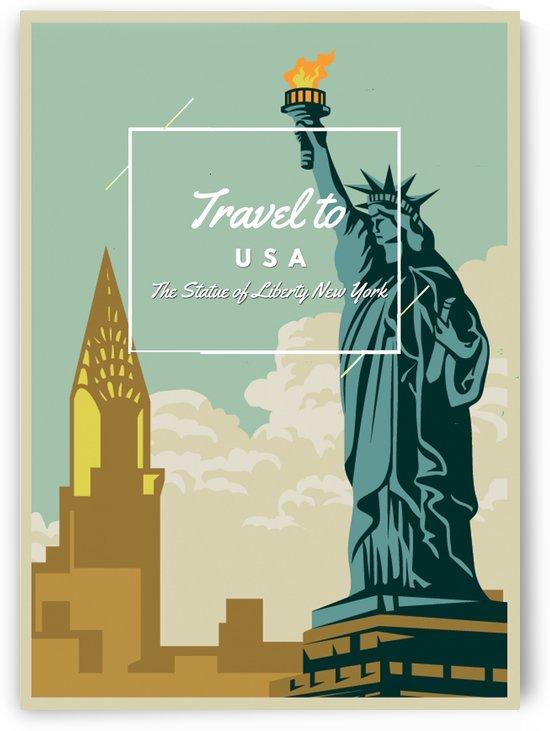 Tarvel To USA by Gunawan Rb