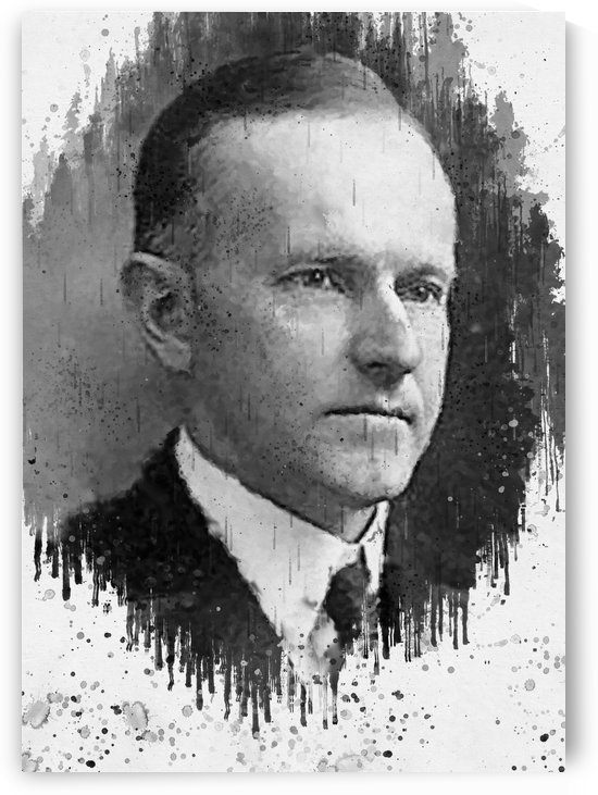 Calvin Coolidge_ by Gunawan Rb