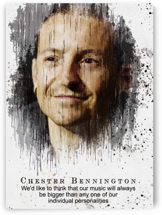 Chester Bennington quotes 9 by Gunawan Rb