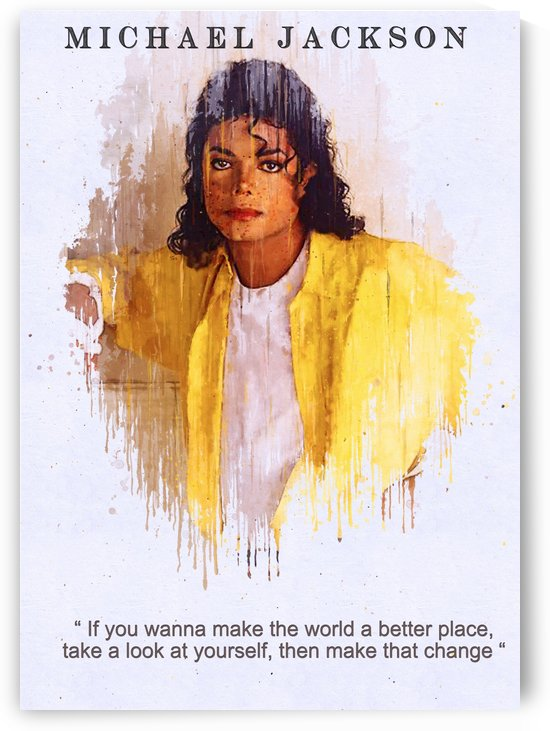 Michael Jackson quotes 1 by Gunawan Rb