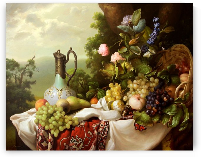 Still life by Dmitry Sevryukov
