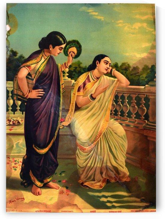 Damyanti by Raja Ravi Varma