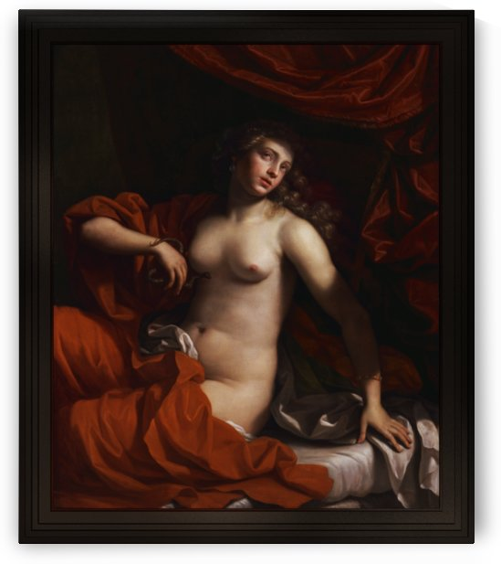 Cleopatra by Benedetto Gennari II by xzendor7