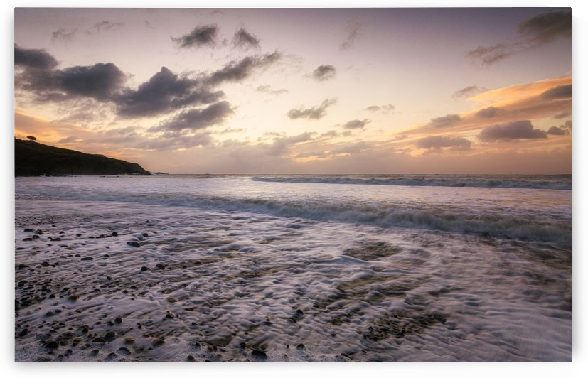 Sunrise at Langland Bay by Leighton Collins