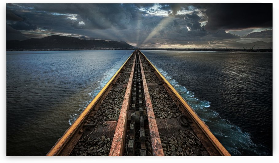Light at the end of the line by Leighton Collins