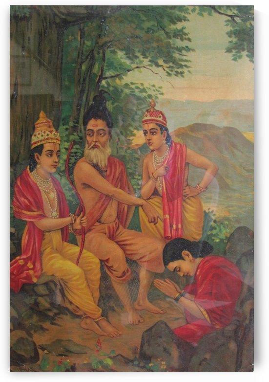 Ram and Laxman by Raja Ravi Varma