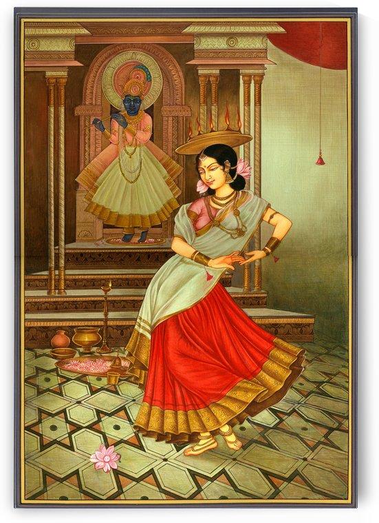 Krishna painting by Raja Ravi Varma