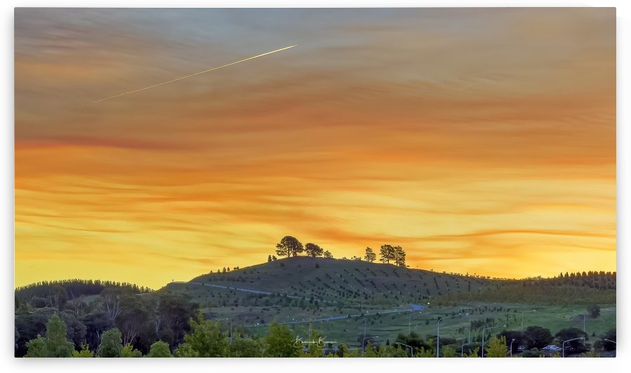 SUNSET in Canberra - Lanscape by BBCLICKZ - Bhaumik Bumia Photography