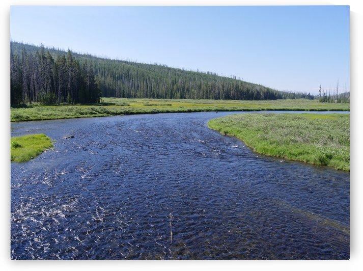 Lewis River Wyoming by On da Raks