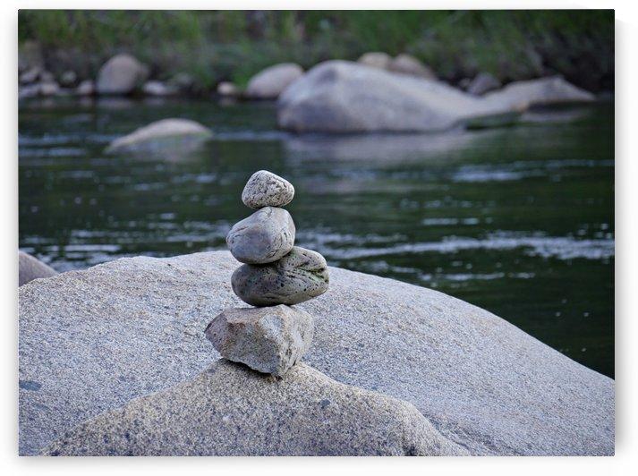 Precarious Position Kern River California by On da Raks