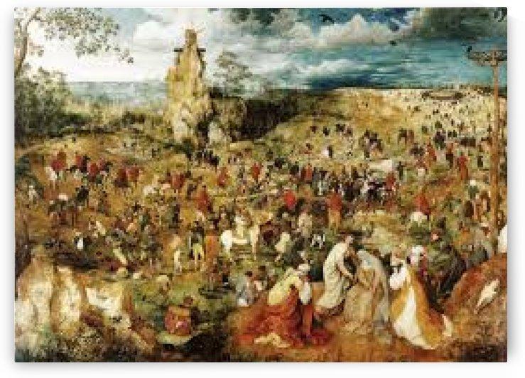 Kreuztragung by Pieter Brueghel the Younger