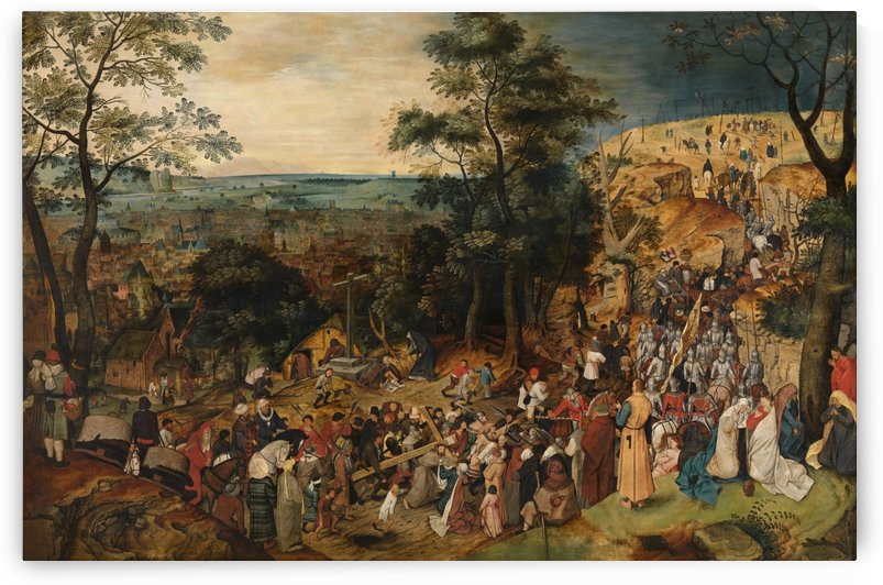 Kruisdraging by Pieter Brueghel the Younger