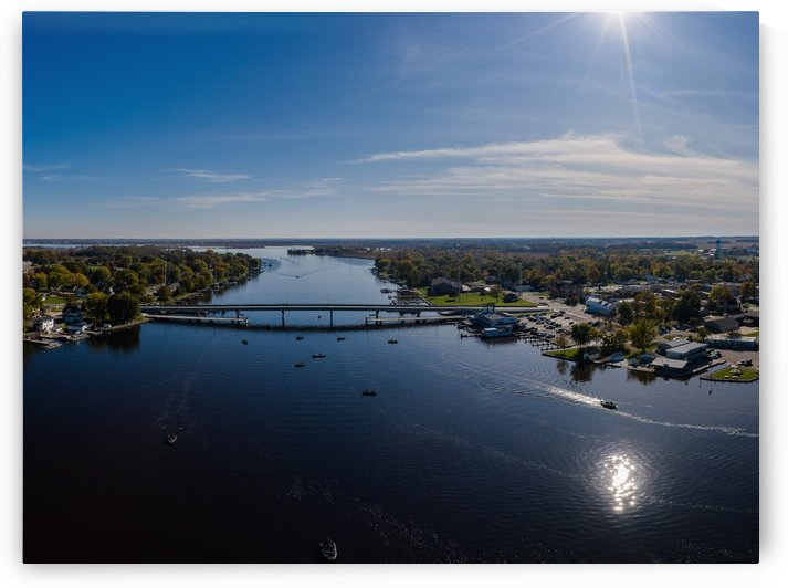 Bridges to Winneconne by Aximagery Media
