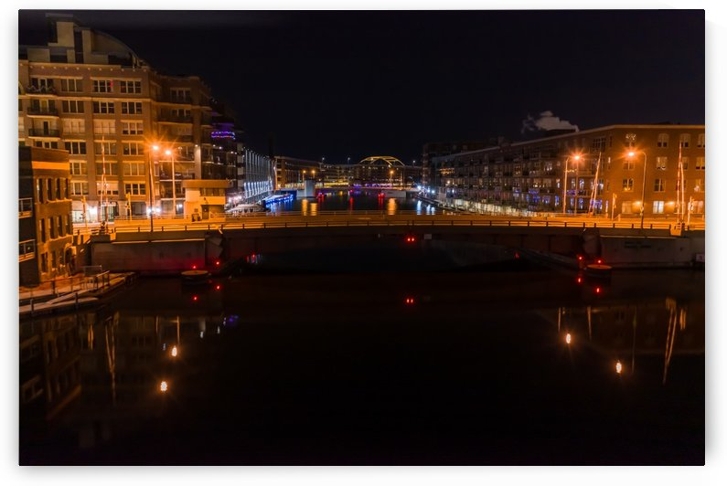 Milwaukee River to The Arches by Aximagery Media