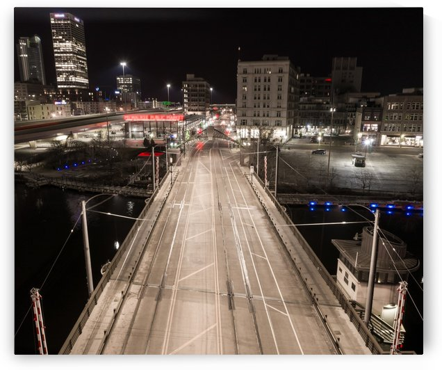 Milwaukee Bridge of The Past by Aximagery Media