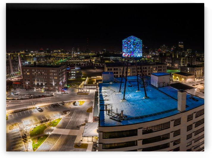 Milwaukee Blue by Aximagery Media