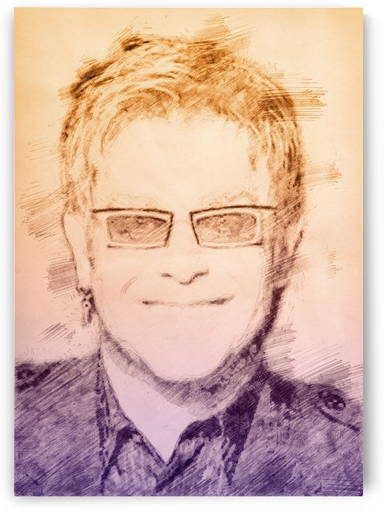 Elton John by Gunawan Rb