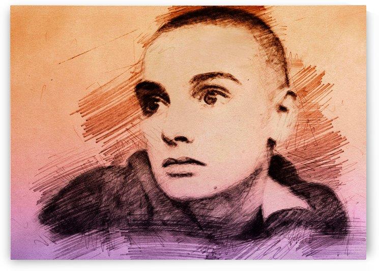 Sinéad OConnor by Gunawan Rb
