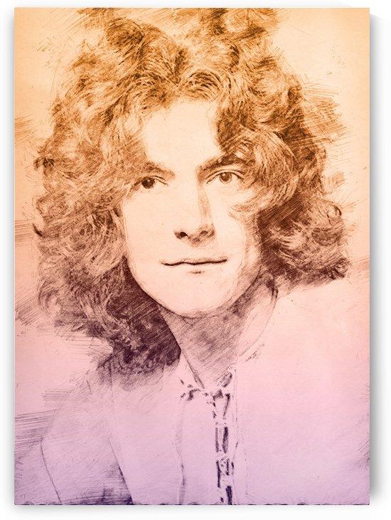 Robert Plant by Gunawan Rb