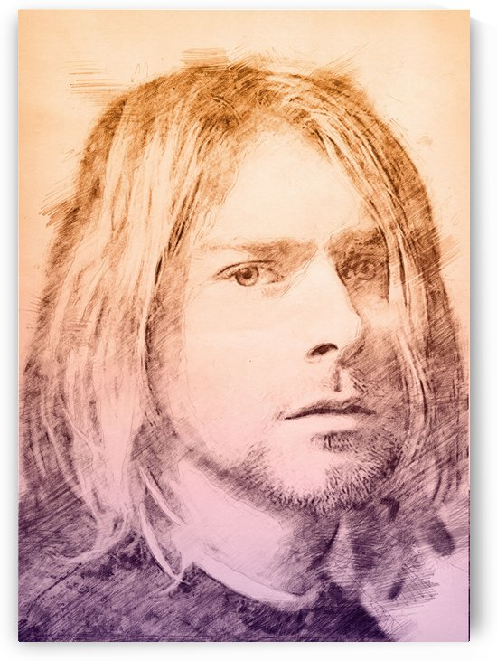 Kurt D Cobain by Gunawan Rb