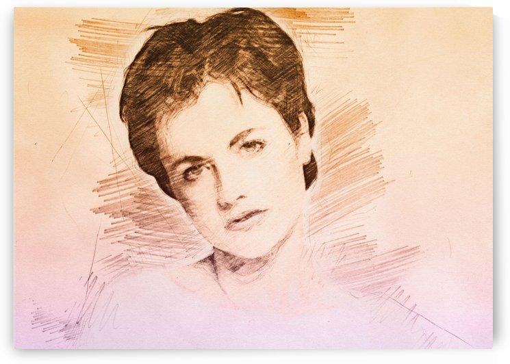 Dolores ORiordan   Pencil Draw by Gunawan Rb