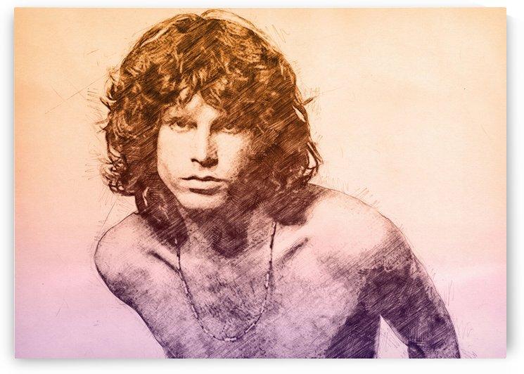 Jim Morrison by Gunawan Rb