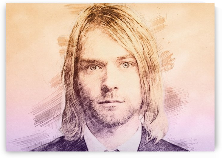 Kurt Cobain   Pencil Draw by Gunawan Rb